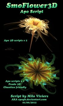 Smo Flower3D Apo Script Pack by Epogh