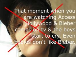 Bieber Makes Babies Cry by Mistress-0f-Dragons