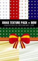 Xmas Texture Pack + Bow by graphicavita