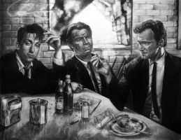 Reservoir Dogs Reduit by arcitenens