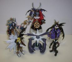 """""""THE DEMON LORDS"""" D-REALS by neoarchangemon"""