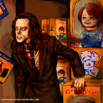 Child's Play -- Charles Lee Ray by HumanPinCushion