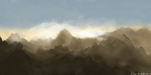 Mountains by shk828