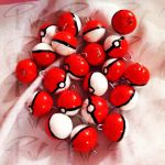 NOW FOR SALE! Pokeball Necklace Charms by FaithWalkers