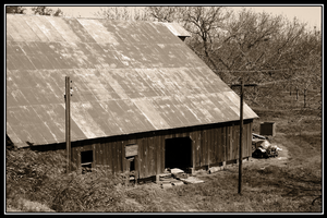 Old Barn by Avaryc