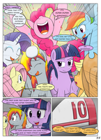 MLP FIM STARS Chapter-4 Stickers Page-55 by MultiTAZker