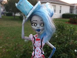 Sfv mh ghoulia yelps as ravena by Mothralady21