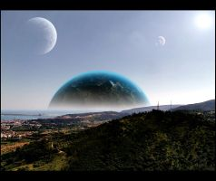 planet seen form earth. by RMirandinha