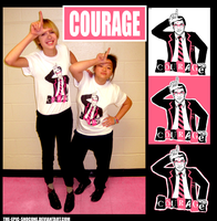 COURAGE TSHIRTS by deckthisout