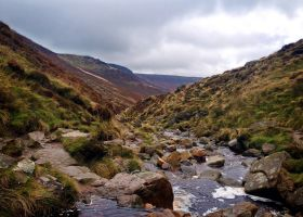Kinder Scout Darkens by shainarichelle