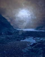 Rocky Beach at night FGM by FairieGoodMother
