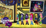 MLP:FIM - Equestria Girls Desktop by PharaohAtisLioness