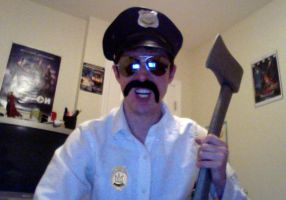 Axe Cop Cosplay by DirtyColumbus