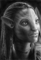 Neytiri - Avatar James Cameron by NOOSBORN