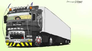 NGPR Service Scania by ngarage