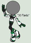 .::So Minty Custom Adopt::. by abbyfirecat