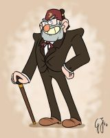 Gravity Falls - Grunkle Stan by GlancoJusticar