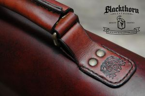 CS-handle by Blackthornleather