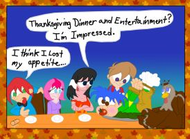 Homey Thanksgiving 2014 by blue-shadow24