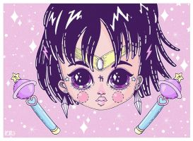 Sailor Saturn by l0ll3