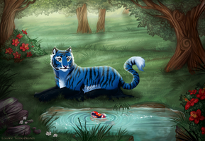 -Commission- Neglected Garden by Makirou