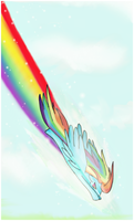 : Sonic Rainboom : by Sayue