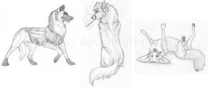 3 Sketches by Idess