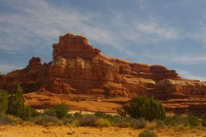 Red Rocks of Canyonlands by PatGoltz