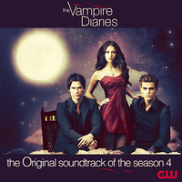 The Vampire Diaries - Season 4 OST CD COVER by GaGanthony