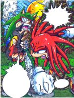 sonic comic pg8 colored by trunks24