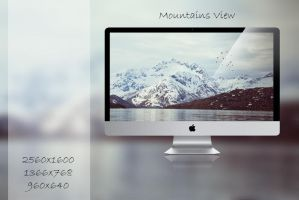 Wallpaper III: Mountains View by lotos15