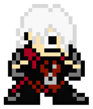 Dante (DMC) - MegaMan Style by MaikeruThePlayer