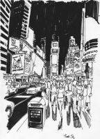 Times Sq  by DylanGibson