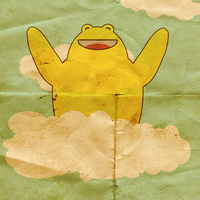 Yellow Hugger in the Clouds by McLetdown