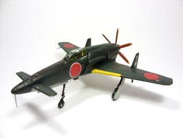 1:72 J7W Shinden VIII by Zero-Cannard