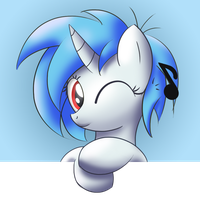 Vinyl Scratch by Bugplayer