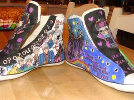Renes Converses Side By Side by SoulOuranHighEater
