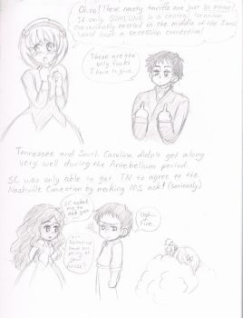 So someone asked me about TN and SC's relations... by Armelle-Kumakins