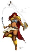 WarriorBabe by thetetine