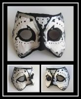Persian Mask White And Black by TheFlyingHeart