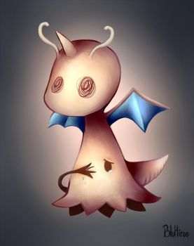 Mimikyu the Dragonite by BluHiroo