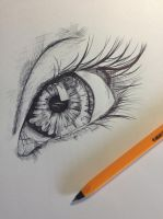 Eye by claremcgeever