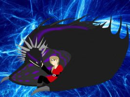 HTTYD-Loki and Anna by ShardianofWhiteFire