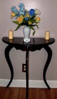Flowers and Table by Rubyfire14-Stock