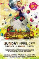 Easter Bash Flyer Template by koza30