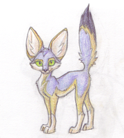 Proud Kit Fox by Kunzai