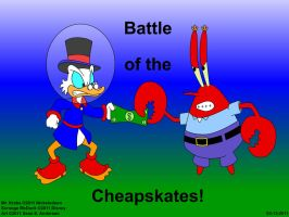 Battle of the Cheapskates by TheRealSneakers