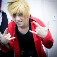 Panty and Stocking Male Version -08 by DamianNada