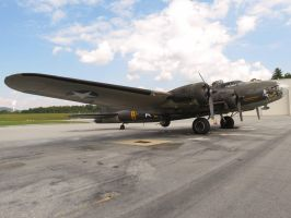 Boeing B-17 Flying Fortress by InDeepSchit