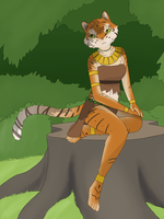 Tigress in Summer by MNGengar